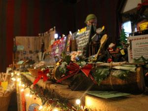 Enjoy a festive market in Barley Hall