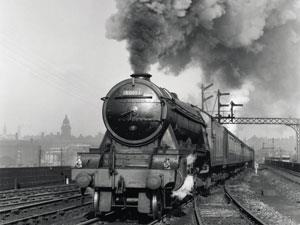 Flying Scotsman in steam.
