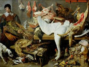 A Game Stall - Frans Snyders © York Museums Trust