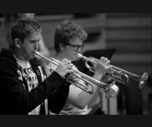 National Youth Music Theatre Trumpeters