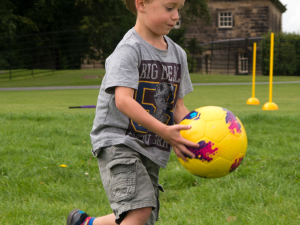 Play outdoors at Nostell this autumn