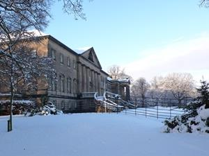 Snow swept Nostell