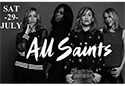 Music Showcase Weekend with All Saints