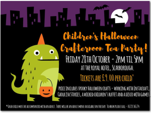 Halloween Crafternoon, Royal Hotel
