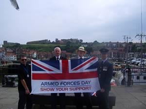 Whitby Armed Forces Day