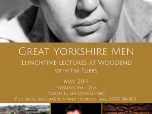 Great Yorkshire Men