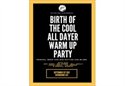The Birth of the Cool RnB Warm Up Party