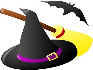 Halloween Hat & Broom
