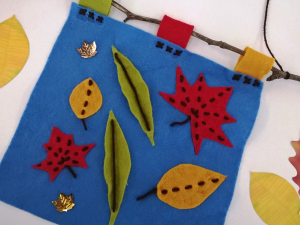 Autumnal Art: Felt Wall Hangings