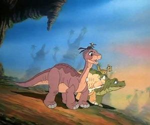 The Land Before Time screening at Leeds Dock