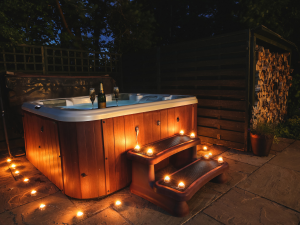 Anns Hill Lodge Hot Tub