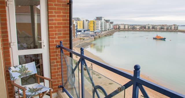 Beautiful views across Sovereign Harbour