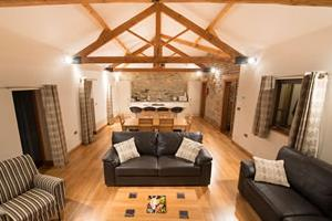 Living Area - The Stables