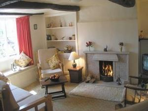 Longlands Farm Cottage living room