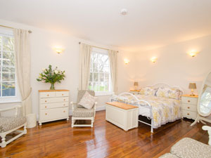 Bedroom at Worcester city centre cottage