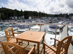 Windermere Marina Village terrace