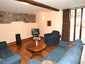 Wood Farm Cottages lounge area