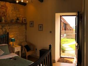The Woodshed-Heacham-Hunstanton-by fireside