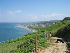 Beautiful views from coastal path walk