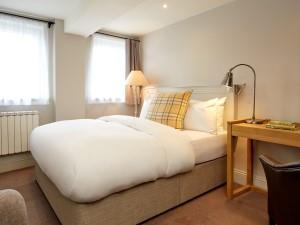 Bedroom at the Abergavenny Hotel