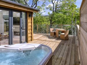 Treehouse Hot Tub
