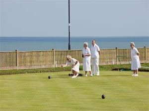 Lawn Bowls at Gorleston-on-Sea Clifftops