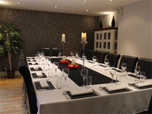 Andover House business dining