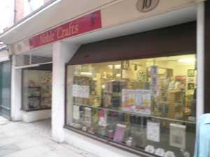 Noble Crafts Shop Arts Craft Great Yarmouth Norfolk