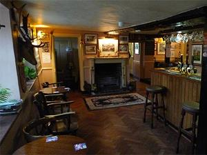 The main bar of the Crown