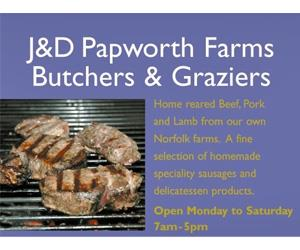 J & D Papworth Butchers