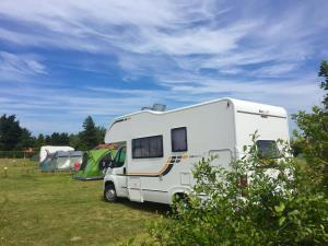 Motorhome at Deepdale Backpackers & Camping