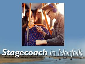 Stagecoach in Norfolk
