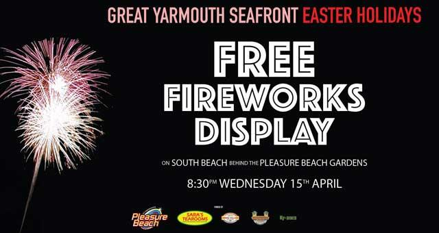 FREE Fireworks Display