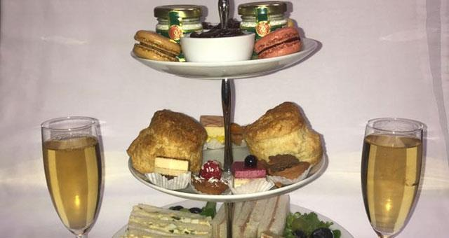 Afternoon Tea at Burlington Palm Court