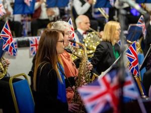 Audience at Proms in the Park