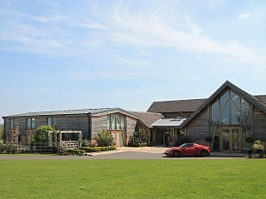 Mythe Barn Front View