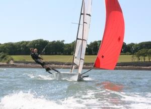 Sailing the RS800