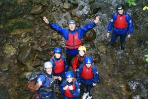 Gorge walking!