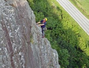 Rock Climbing at Tremadog
