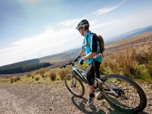 Afan Forest Park mountain biking