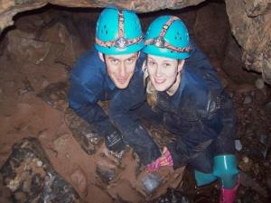Caving in South Wales