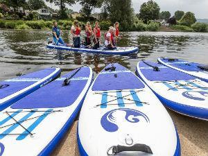 Stand-up Paddle Boarding, Monmouth
