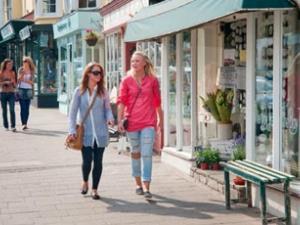 Shopping in Cowbridge
