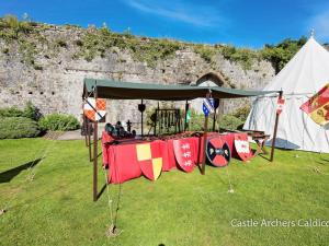 Archery at Caldicot Castle