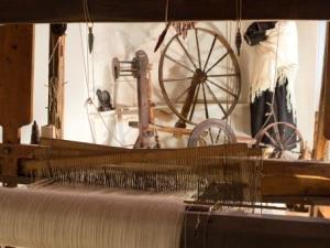 Textiles display