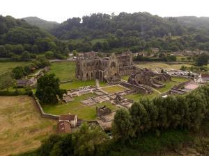 Tintern Abbey Aerial Image