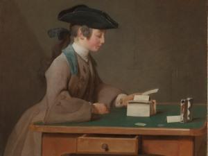 Jean-Siméon Chardin's 'The House of Cards'