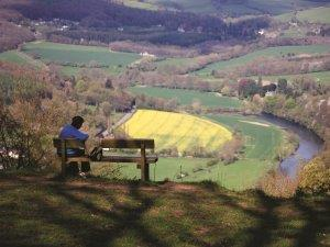 View over the Wye Valley
