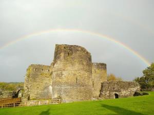 Cilgerran Castle Rainbow