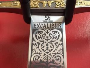 A range of Arthurian swords including Excalibur
